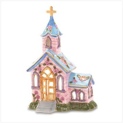 Springtime Church Candleholder