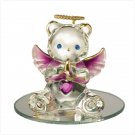 Glass Birthstone Teddy - January