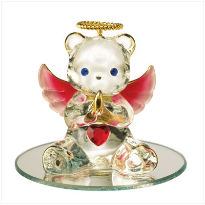 Glass Birthstone Teddy - July