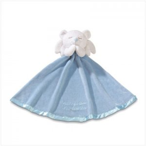 Boy's Angel Bear Security Blanket