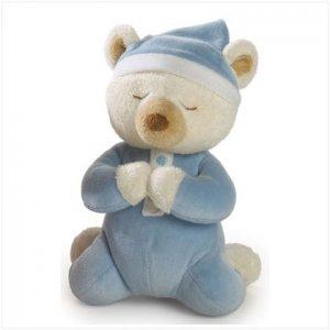 Blue Boy's Prayer Bear