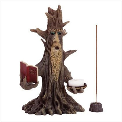 Wizened Tree Candle Holder
