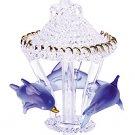 Spun-Glass Dolphin Carousel