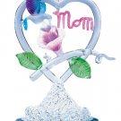 """Spun-Glass Honeysuckle """"MOM"""" Heart"""