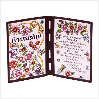 """Friendship"" Plaque"