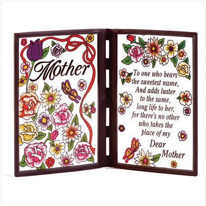 Poetic Mom Plaque