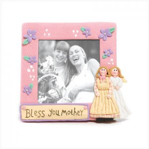 """""""Bless You Mother"""" Frame"""