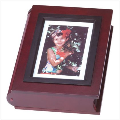Handcrafted Wood Photo Album