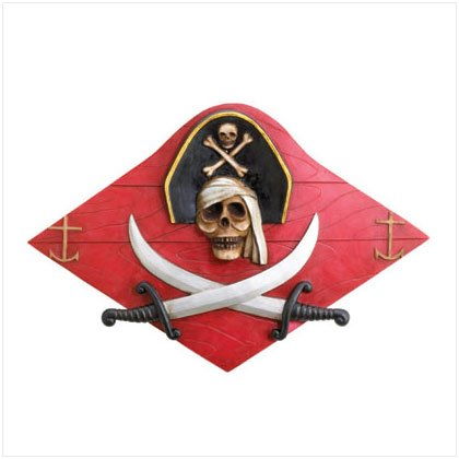 Pirate Plank Plaque