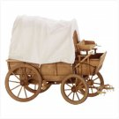 Wooden Cloth Covered Wagon