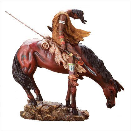 """""""The End Of The Trail"""" Reproduction Figurine"""