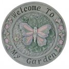 Butterfly Welcome Wall Plaque