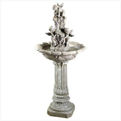 Fiberglass Playful Cherubim Fountain