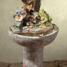 Colorful Frog Garden Fountain