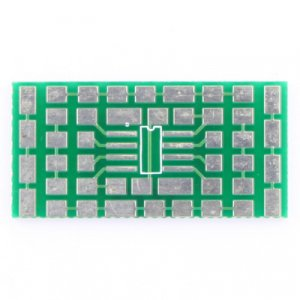 4 x 8-pin SSOP,TSSOP and SOIC Surface Mount Prototype Board FP276508