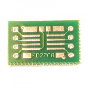 2x 8pin SOIC to DIP Prototype Adapter/Converter (FD2708)