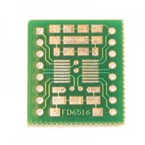 16pin SSOP/TSSOP to DIP Prototype Adapter/Converter (FD6516)