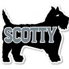 """Serro Scotty 11"""" x 9""""  Newer Style Decal from the 1990's"""