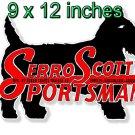 "Serro Scotty 9"" x 12"" Large Die-Cut Decal"