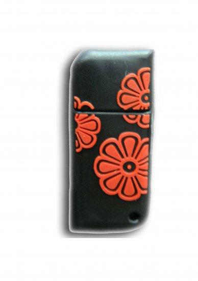 FLOWER (BLACK & RED)