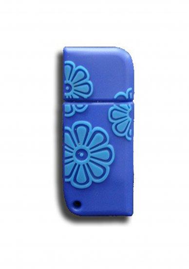 FLOWER (DARK BLUE & CLEAR BLUE)