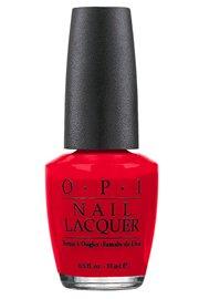 OPI Nail Polish Lacquer BIG APPLE RED - NLN25