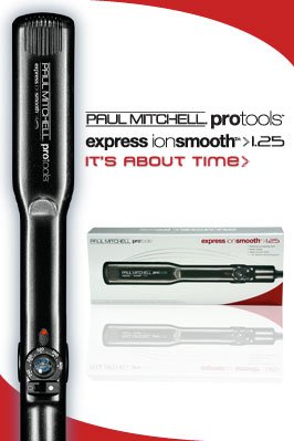 """Paul Mitchell Express Ion Smooth 1.25"""" Flat Iron"""