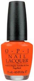 OPI Nail Polish Lacquer ATOMIC ORANGE  NLB39