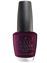 OPI Nail Polish Lacquer BLACK CHERRY CHUTNEY  NLI43