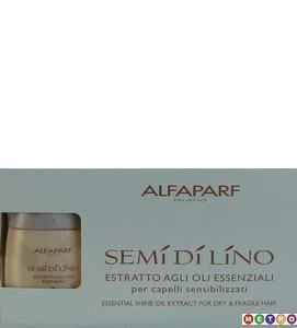 ALFAPARF Milano Semi Di Lino Essential Shine Oil Extract (5-bottle pk)