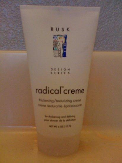 Rusk Radical Creme 4oz (original packaging)