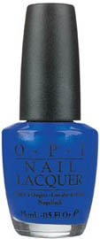 OPI Nail Polish Lacquer BLUE MY MIND NLB24