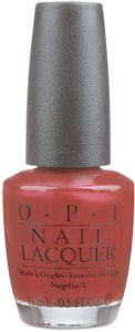 OPI Nail Polish Lacquer CANADIAN MAPLE LEAF NLC88