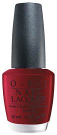 OPI Nail Polish Lacquer GOT THE BLUES FOR RED NLW52
