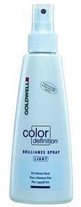 Goldwell Color Definition Light Brilliance Spray for Fine Hair 5oz