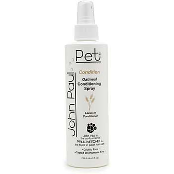 John Paul Pet Conditioning Dog Spray for Dogs 8oz