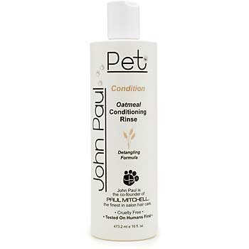 John Paul Pet Oatmeal Conditioning Rinse for Dogs 16oz