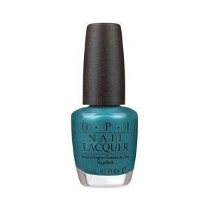 OPI Nail Polish Lacquer Teal The Cows Come Home NLB54