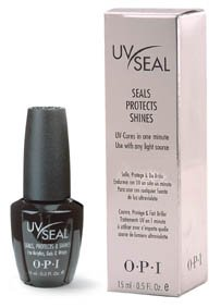 OPI UV Seal Protects Shines .5oz