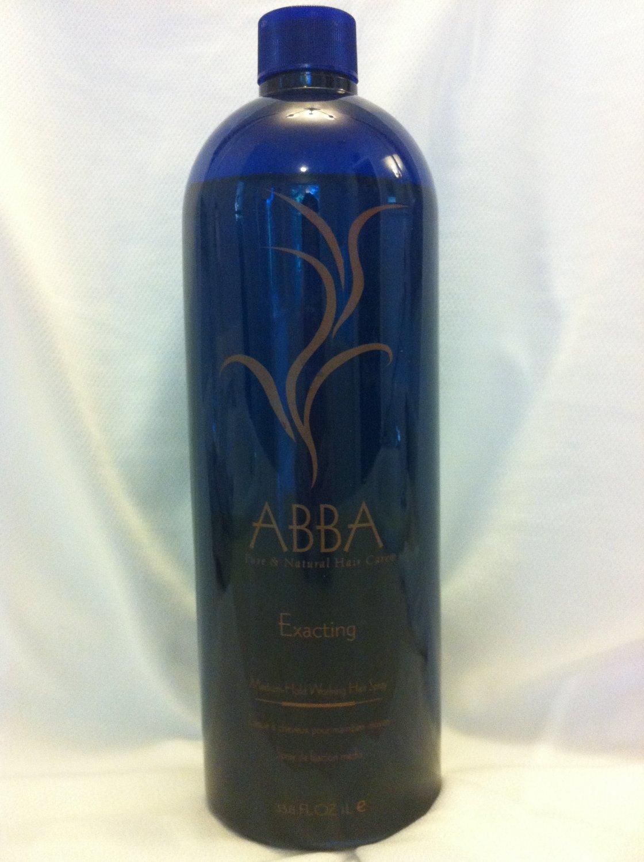 Abba Exacting Medium Hold Working Hair Spray 33.8oz
