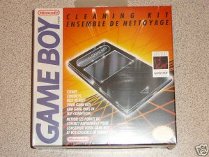 GAMEBOY CLEANING KIT BRAND NEW SEALED OFFICIAL NINTENDO