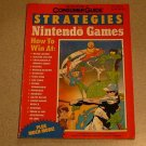 CONSUMER GUIDE FOR NINTENDO GAMES 1989 STRATEGY