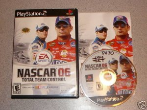 NASCAR 06 TOTAL TEAM CONTROL PS2 100% COMPLETE