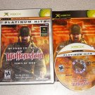 RETURN CASTLE WOLFENSTEIN TIDES WAR XBOX 100% COMPLETE