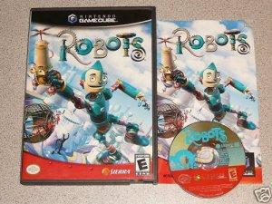 ROBOTS NINTENDO GAMECUBE 100% COMPLETE PLAYS ON WII