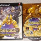 NIGHTMARE OF DRUAGA PS2 PLAYSTATION 2 100% COMPLETE