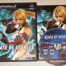 DEATH BY DEGREES NINA PS2 PLAYSTATION 2 100% COMPLETE