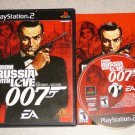 007 FROM RUSSIA WITH LOVE PS2 PLAYSTATION 2 100%