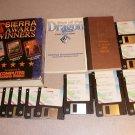 SIERRA AWARD WINNERS KING QUEST BARON PC BIG BOX 3 GAME