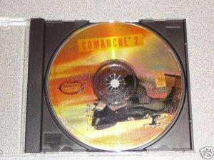 COMANCHE 1 2 3 4 GOLD PC CD ROM GAME 4 GAMES NOVALOGIC